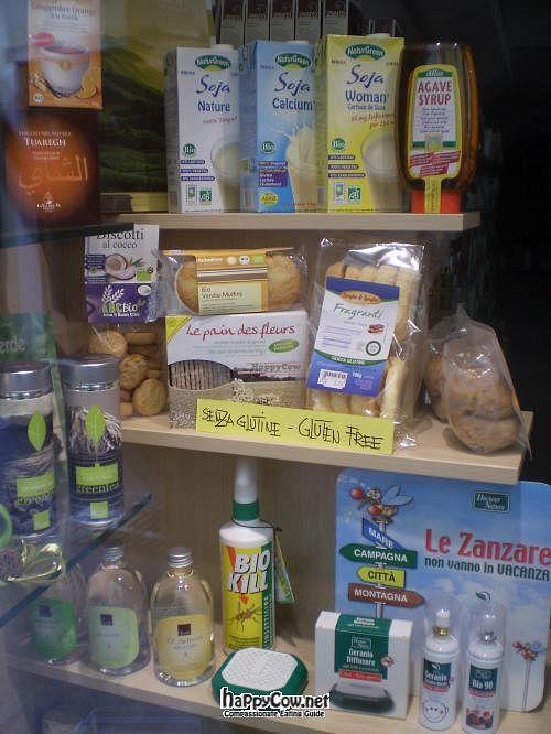 """Photo of La Corteccia Erboristeria  by <a href=""""/members/profile/Nanchi"""">Nanchi</a> <br/>La Corteccia Erboristeria: display window, food and cosmetics <br/> June 24, 2012  - <a href='/contact/abuse/image/32923/33634'>Report</a>"""