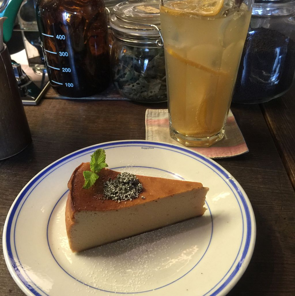"Photo of Cafe Sukkara - 수카라  by <a href=""/members/profile/Michelle_K"">Michelle_K</a> <br/>tofu cheesecake and lemonade <br/> June 2, 2016  - <a href='/contact/abuse/image/32928/151852'>Report</a>"