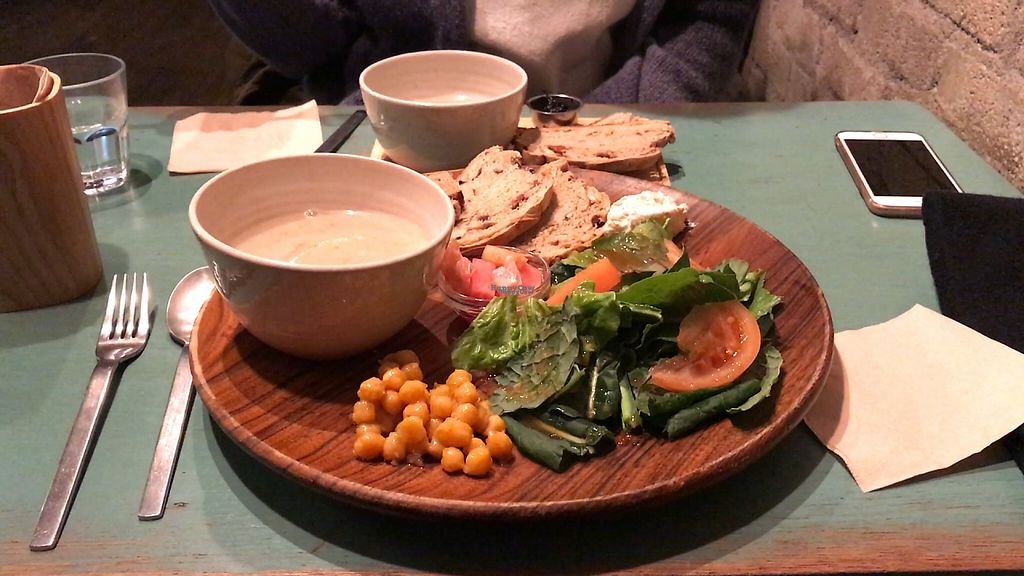 "Photo of Cafe Sukkara - 수카라  by <a href=""/members/profile/Pavkata"">Pavkata</a> <br/>Vegan Food Platter <br/> February 17, 2017  - <a href='/contact/abuse/image/32928/227451'>Report</a>"