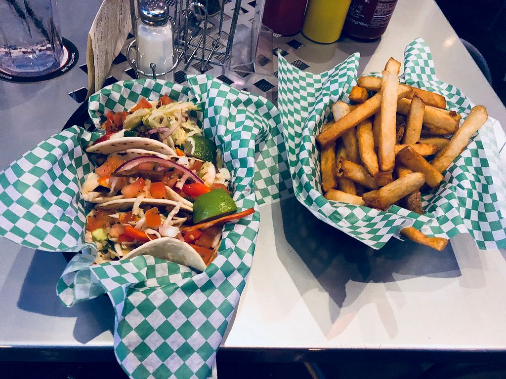 "Photo of Depot Tavern  by <a href=""/members/profile/Bgeezy"">Bgeezy</a> <br/>Tacos and fries <br/> February 28, 2018  - <a href='/contact/abuse/image/32954/364691'>Report</a>"