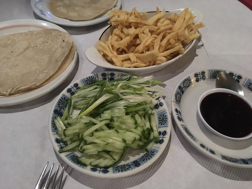 """Photo of Yuet Ben  by <a href=""""/members/profile/Frijoles"""">Frijoles</a> <br/>Tofu & pancakes starter  <br/> November 23, 2017  - <a href='/contact/abuse/image/32970/328318'>Report</a>"""