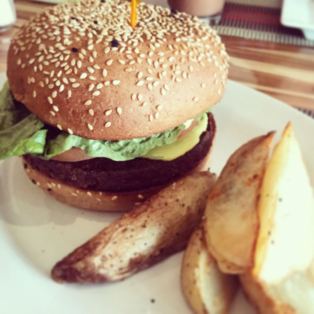 """Photo of Vegan Planet  by <a href=""""/members/profile/NOK"""">NOK</a> <br/>Burger <br/> January 16, 2016  - <a href='/contact/abuse/image/32976/132646'>Report</a>"""