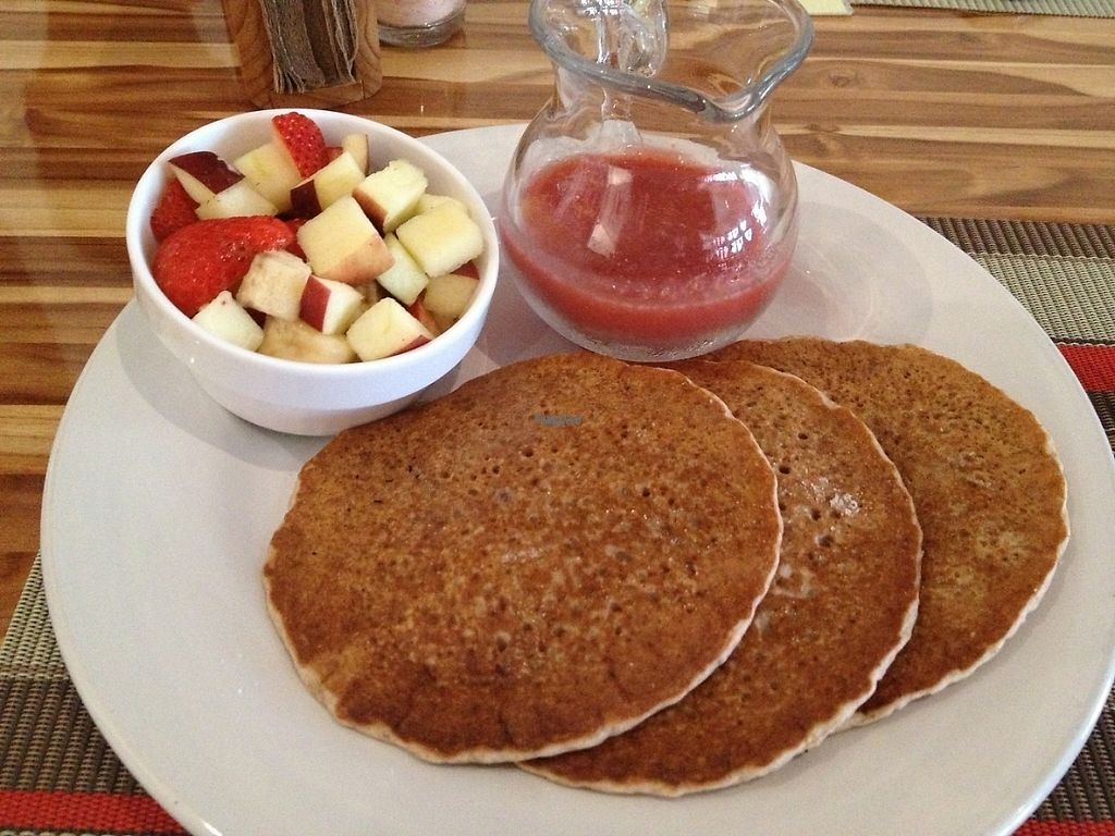"""Photo of Vegan Planet  by <a href=""""/members/profile/Rosa%20veg"""">Rosa veg</a> <br/>Vegan pancakes <br/> April 17, 2017  - <a href='/contact/abuse/image/32976/249389'>Report</a>"""
