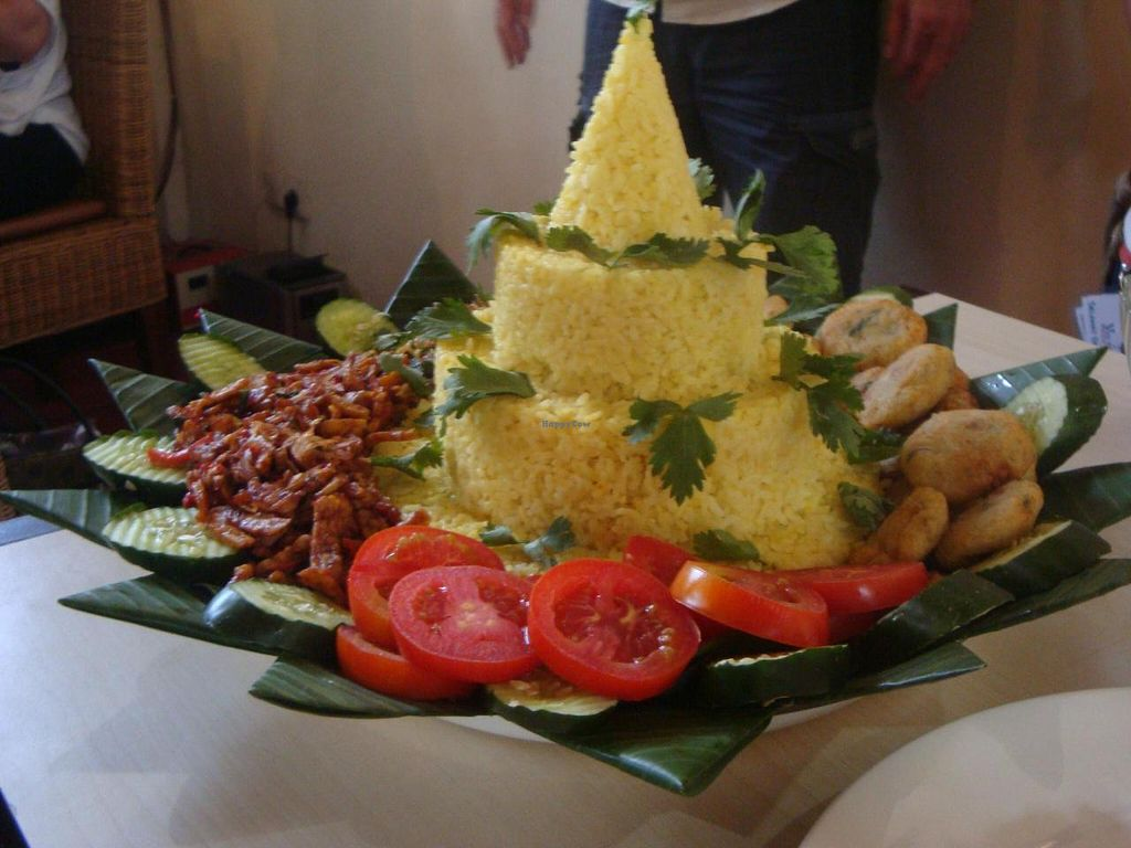 """Photo of CLOSED: Mila's Warung  by <a href=""""/members/profile/Sonja%20and%20Dirk"""">Sonja and Dirk</a> <br/>nasi campur <br/> June 12, 2014  - <a href='/contact/abuse/image/33000/71936'>Report</a>"""