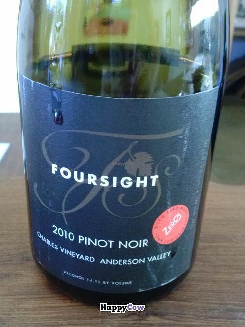 """Photo of Foursight Wines  by <a href=""""/members/profile/Sonja%20and%20Dirk"""">Sonja and Dirk</a> <br/>Pinot Noir <br/> August 25, 2013  - <a href='/contact/abuse/image/33015/53752'>Report</a>"""