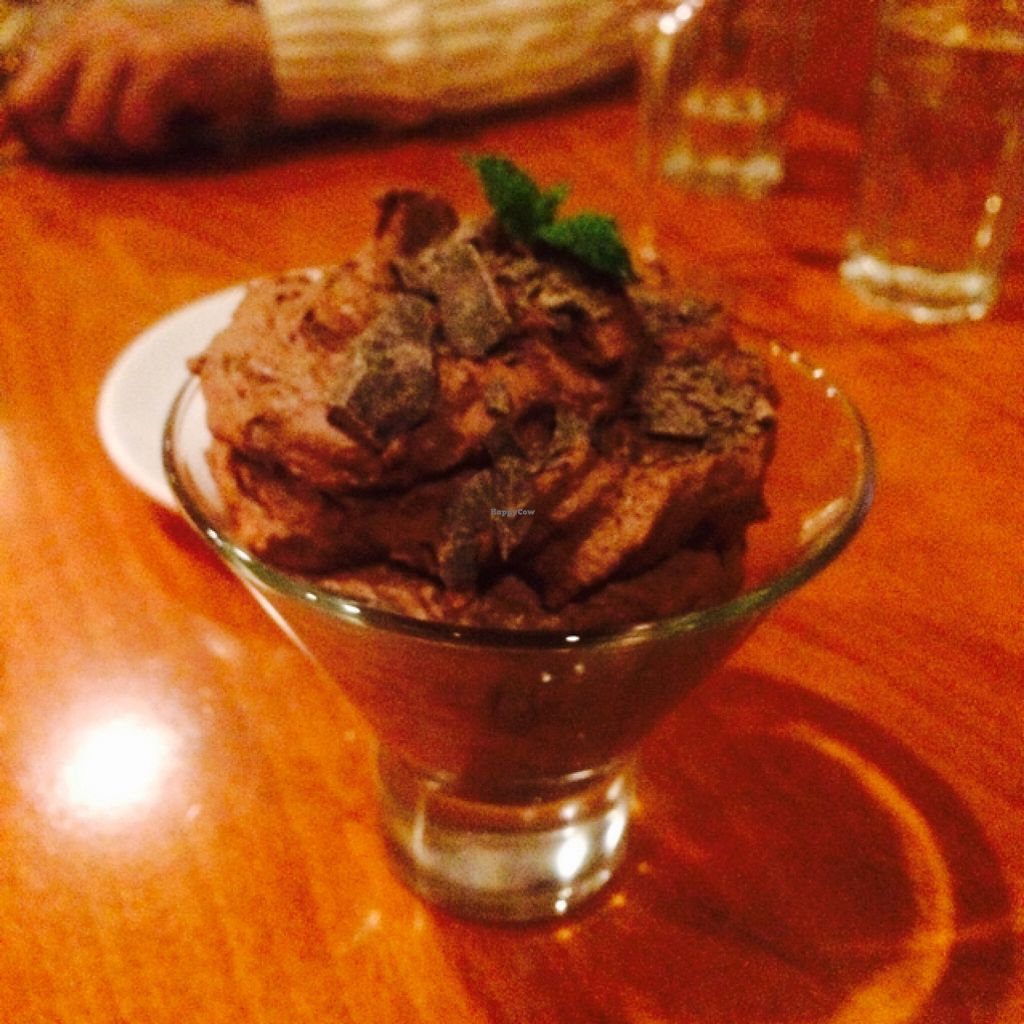 """Photo of Sweet Grass Grill  by <a href=""""/members/profile/pandapuffsss"""">pandapuffsss</a> <br/>Chocolate mousse <br/> February 21, 2016  - <a href='/contact/abuse/image/33020/137164'>Report</a>"""