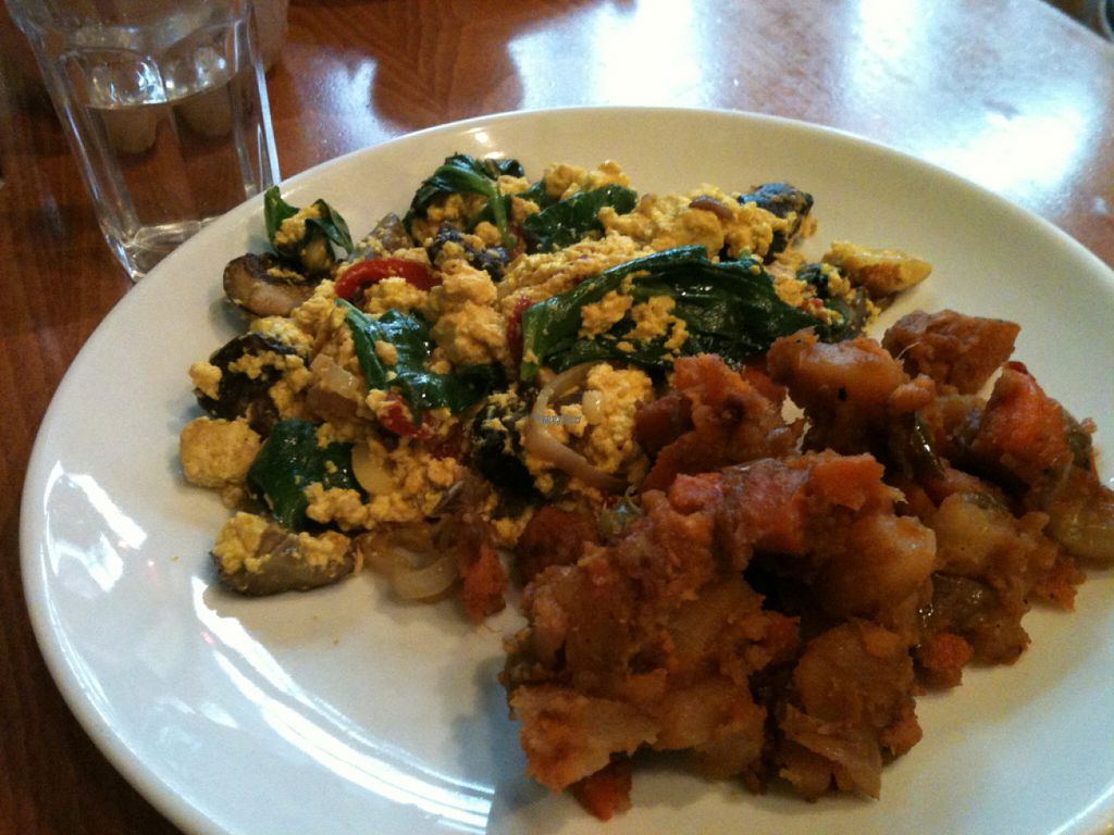 """Photo of Sweet Grass Grill  by <a href=""""/members/profile/ecoRDN"""">ecoRDN</a> <br/>Vegetable Tofu Scramble By Sweetgrass Grill, Tarrytown, NY - Photo By ecoRDN ecoRDN.com <br/> November 3, 2016  - <a href='/contact/abuse/image/33020/186388'>Report</a>"""