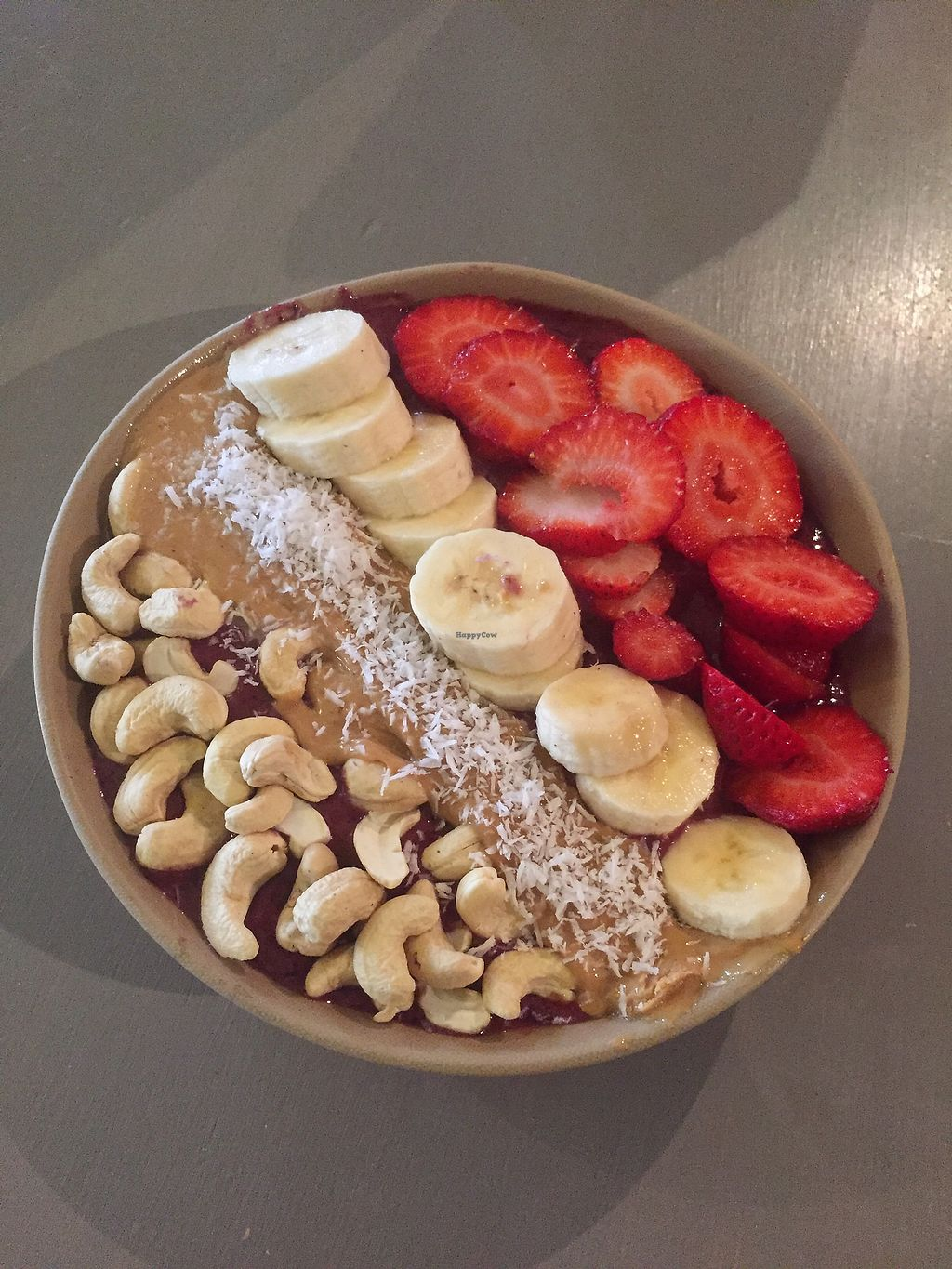 """Photo of Roots Organic Juice Cafe  by <a href=""""/members/profile/happycowgirl"""">happycowgirl</a> <br/>Smoothie Bowl : ) <br/> September 19, 2017  - <a href='/contact/abuse/image/33022/305953'>Report</a>"""