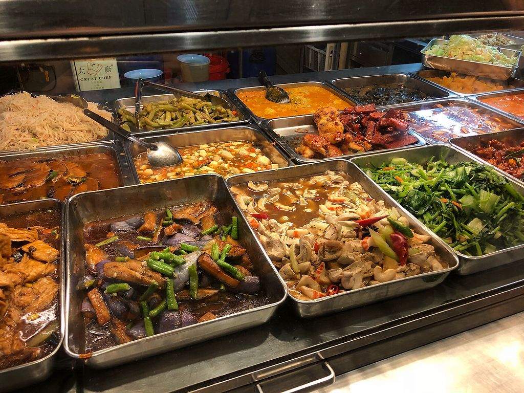 """Photo of Hokkien Vegetarian  by <a href=""""/members/profile/CherylQuincy"""">CherylQuincy</a> <br/>Buffet selection <br/> March 12, 2018  - <a href='/contact/abuse/image/33024/369656'>Report</a>"""