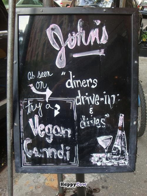 "Photo of John's of 12th Street  by <a href=""/members/profile/Sonja%20and%20Dirk"">Sonja and Dirk</a> <br/>sign out front <br/> July 21, 2013  - <a href='/contact/abuse/image/33041/51797'>Report</a>"