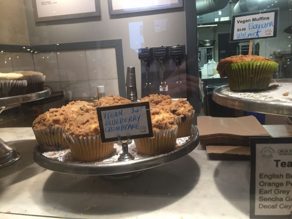 """Photo of Old City Coffee  by <a href=""""/members/profile/veganjess86"""">veganjess86</a> <br/>muffins <br/> December 31, 2015  - <a href='/contact/abuse/image/33044/130499'>Report</a>"""