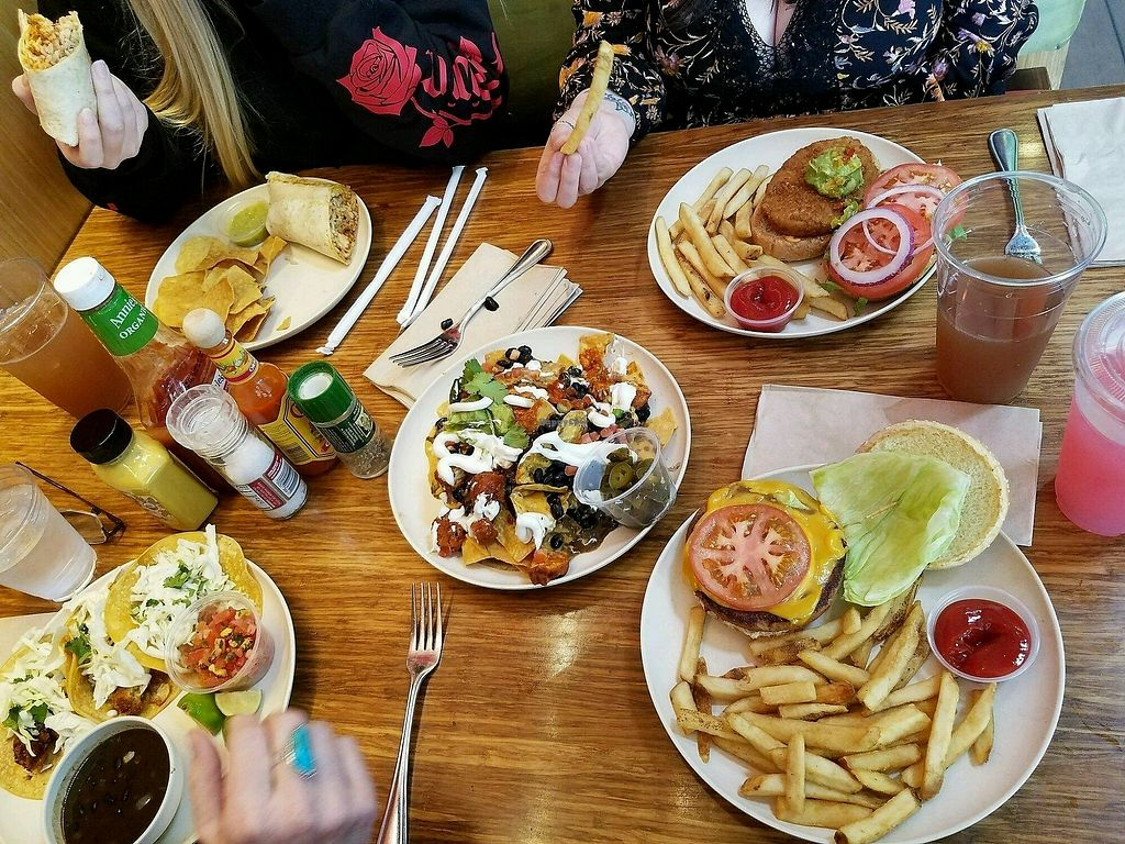 """Photo of Veggie Grill  by <a href=""""/members/profile/QuothTheRaven"""">QuothTheRaven</a> <br/>feast <br/> March 18, 2018  - <a href='/contact/abuse/image/33046/372641'>Report</a>"""