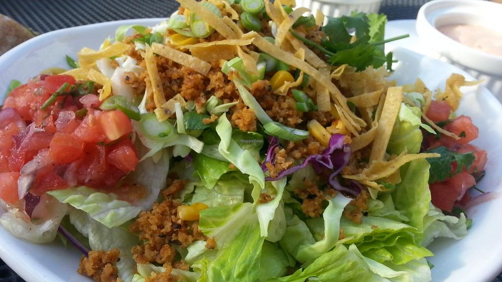 "Photo of CLOSED: Native Foods - Santa Monica  by <a href=""/members/profile/eric"">eric</a> <br/>taco salad <br/> January 8, 2015  - <a href='/contact/abuse/image/33047/89791'>Report</a>"