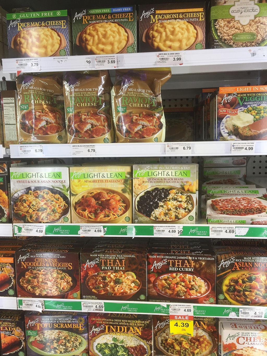 "Photo of Strack and Van Til  by <a href=""/members/profile/happycowgirl"">happycowgirl</a> <br/>lots of Amy's frozen entrees <br/> September 13, 2017  - <a href='/contact/abuse/image/33049/303879'>Report</a>"
