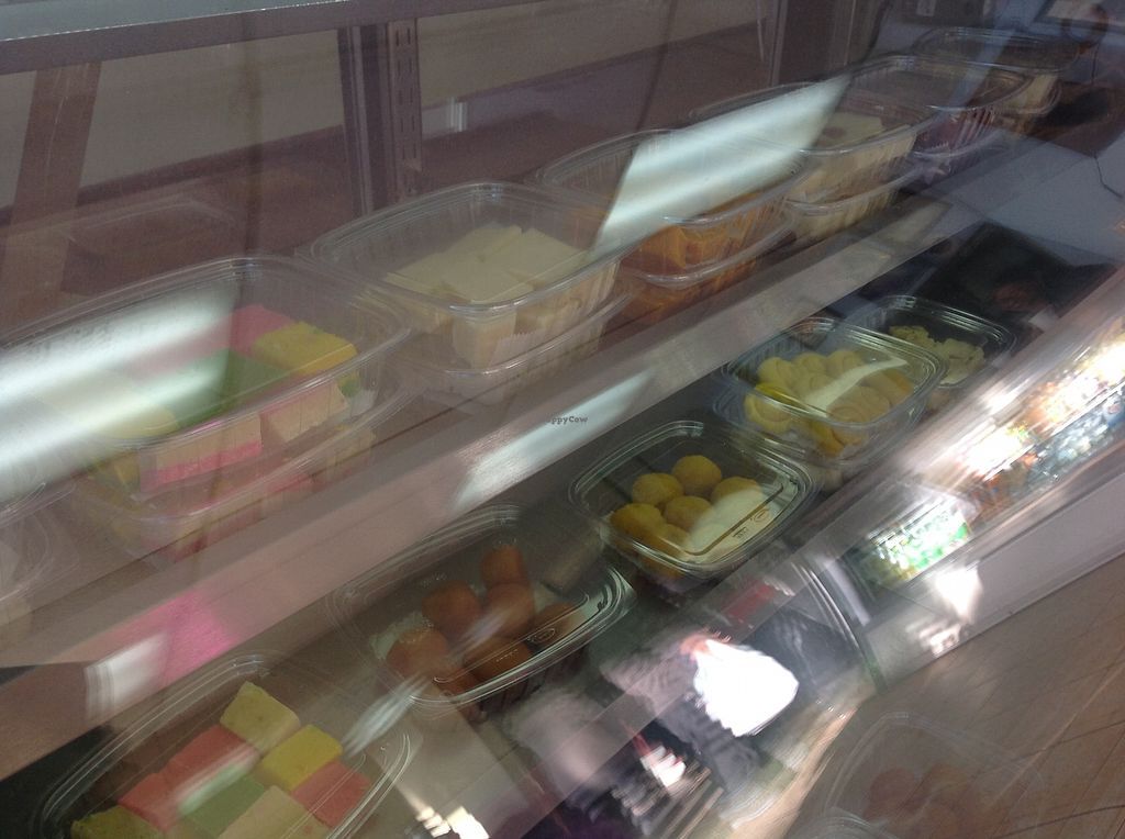 """Photo of Dosa Hut  by <a href=""""/members/profile/SendNooch"""">SendNooch</a> <br/>They sell desserts with the ingredients listed.  <br/> March 14, 2018  - <a href='/contact/abuse/image/3304/370397'>Report</a>"""