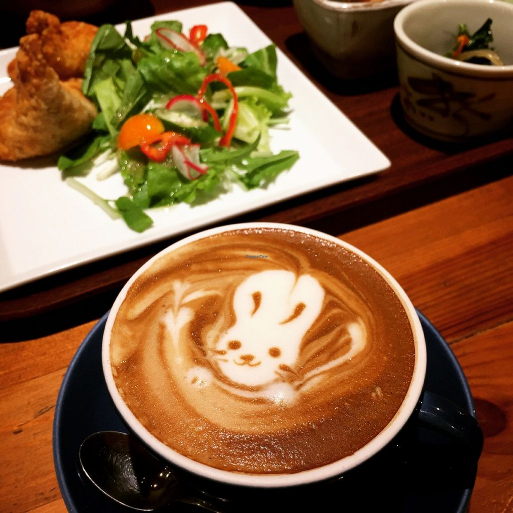 """Photo of CLOSED: Tosca  by <a href=""""/members/profile/MyVeganJoy"""">MyVeganJoy</a> <br/>Coffe art!!! <br/> September 3, 2015  - <a href='/contact/abuse/image/33053/116257'>Report</a>"""