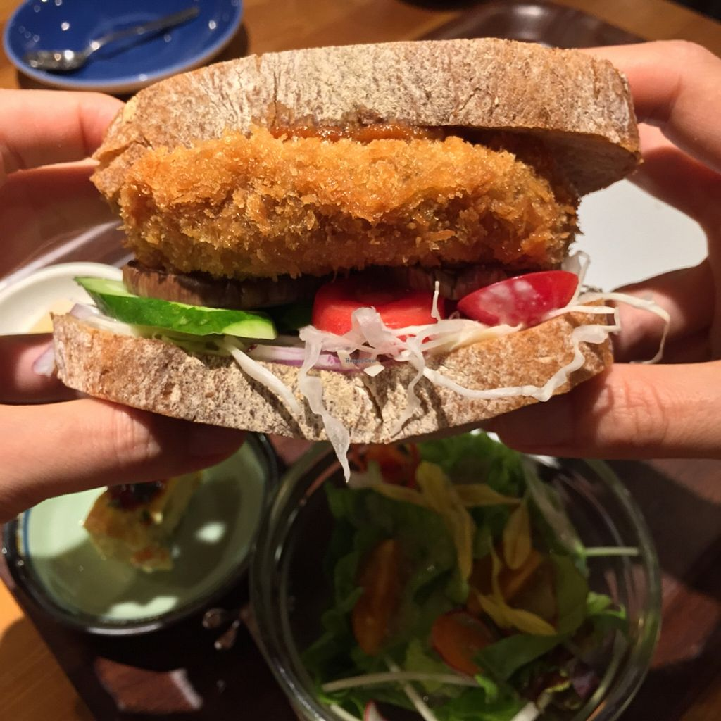 """Photo of CLOSED: Tosca  by <a href=""""/members/profile/MyVeganJoy"""">MyVeganJoy</a> <br/>great sandwich <br/> September 3, 2015  - <a href='/contact/abuse/image/33053/116259'>Report</a>"""