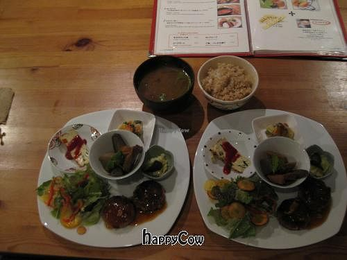 """Photo of CLOSED: Tosca  by <a href=""""/members/profile/davidredstone"""">davidredstone</a> <br/>Tosca dinner set for two  (not shown: bread and pumpkin + pea soup, because I ate them before taking photos!) <br/> April 18, 2013  - <a href='/contact/abuse/image/33053/47101'>Report</a>"""