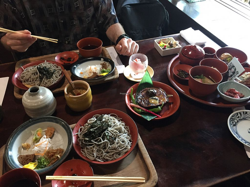"""Photo of Yoshuji  by <a href=""""/members/profile/roosaloo"""">roosaloo</a> <br/>2 x hot soba, plus set C  <br/> July 14, 2017  - <a href='/contact/abuse/image/33054/280187'>Report</a>"""
