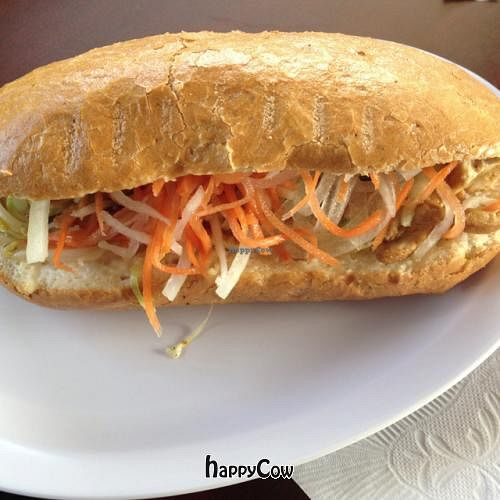 """Photo of Pho Hut  by <a href=""""/members/profile/glassesgirl79"""">glassesgirl79</a> <br/>Bahn Mi Chay sandwich <br/> April 11, 2013  - <a href='/contact/abuse/image/33067/46915'>Report</a>"""