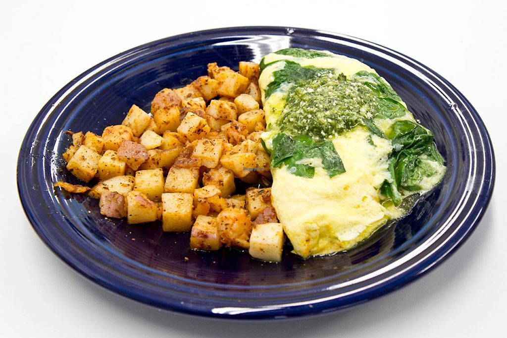 """Photo of Smile of the Beyond  by <a href=""""/members/profile/northstar7"""">northstar7</a> <br/>Pesto Omlette at the Smile of the Beyond in Jamaica, NY <br/> December 15, 2014  - <a href='/contact/abuse/image/3306/88024'>Report</a>"""