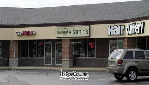 "Photo of Baums Natural Foods  by <a href=""/members/profile/happycowgirl"">happycowgirl</a> <br/>located in the corner of the strip mall <br/> July 5, 2012  - <a href='/contact/abuse/image/33081/34181'>Report</a>"