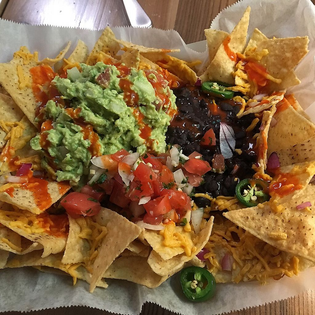 """Photo of Consciousfork  by <a href=""""/members/profile/LilMsVegan"""">LilMsVegan</a> <br/>Loaded nacho goodness  <br/> November 25, 2017  - <a href='/contact/abuse/image/33095/328998'>Report</a>"""