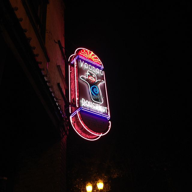 """Photo of Voodoo Doughnut  by <a href=""""/members/profile/NirvanaRoseWilliams"""">NirvanaRoseWilliams</a> <br/>Signage  <br/> October 22, 2016  - <a href='/contact/abuse/image/33103/183766'>Report</a>"""