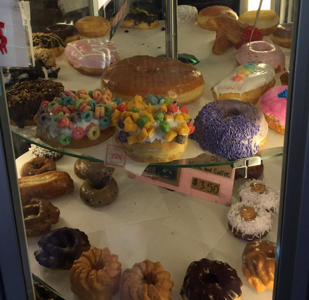 """Photo of Voodoo Doughnut  by <a href=""""/members/profile/Swansonbuns"""">Swansonbuns</a> <br/>donuts! <br/> July 7, 2016  - <a href='/contact/abuse/image/33103/220548'>Report</a>"""