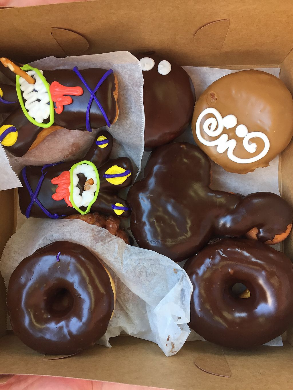 """Photo of Voodoo Doughnut  by <a href=""""/members/profile/TheVeganNarwhal"""">TheVeganNarwhal</a> <br/>Donuts <br/> February 12, 2018  - <a href='/contact/abuse/image/33103/358232'>Report</a>"""