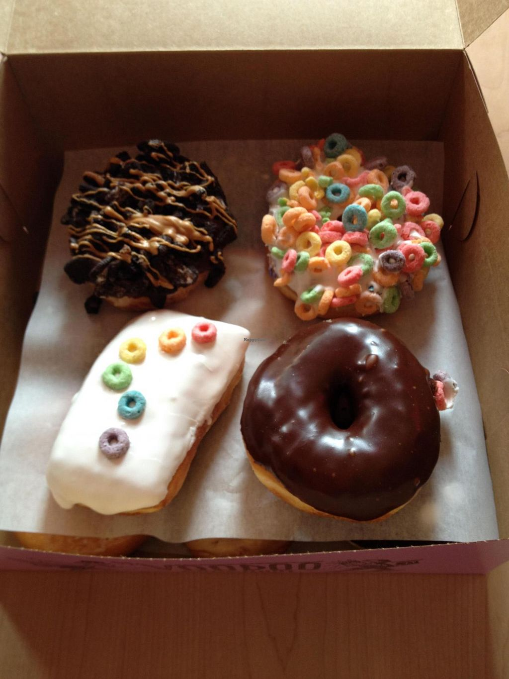 """Photo of Voodoo Doughnut Too  by <a href=""""/members/profile/Posi%20Britt"""">Posi Britt</a> <br/>So many selections! <br/> June 25, 2014  - <a href='/contact/abuse/image/33115/72788'>Report</a>"""