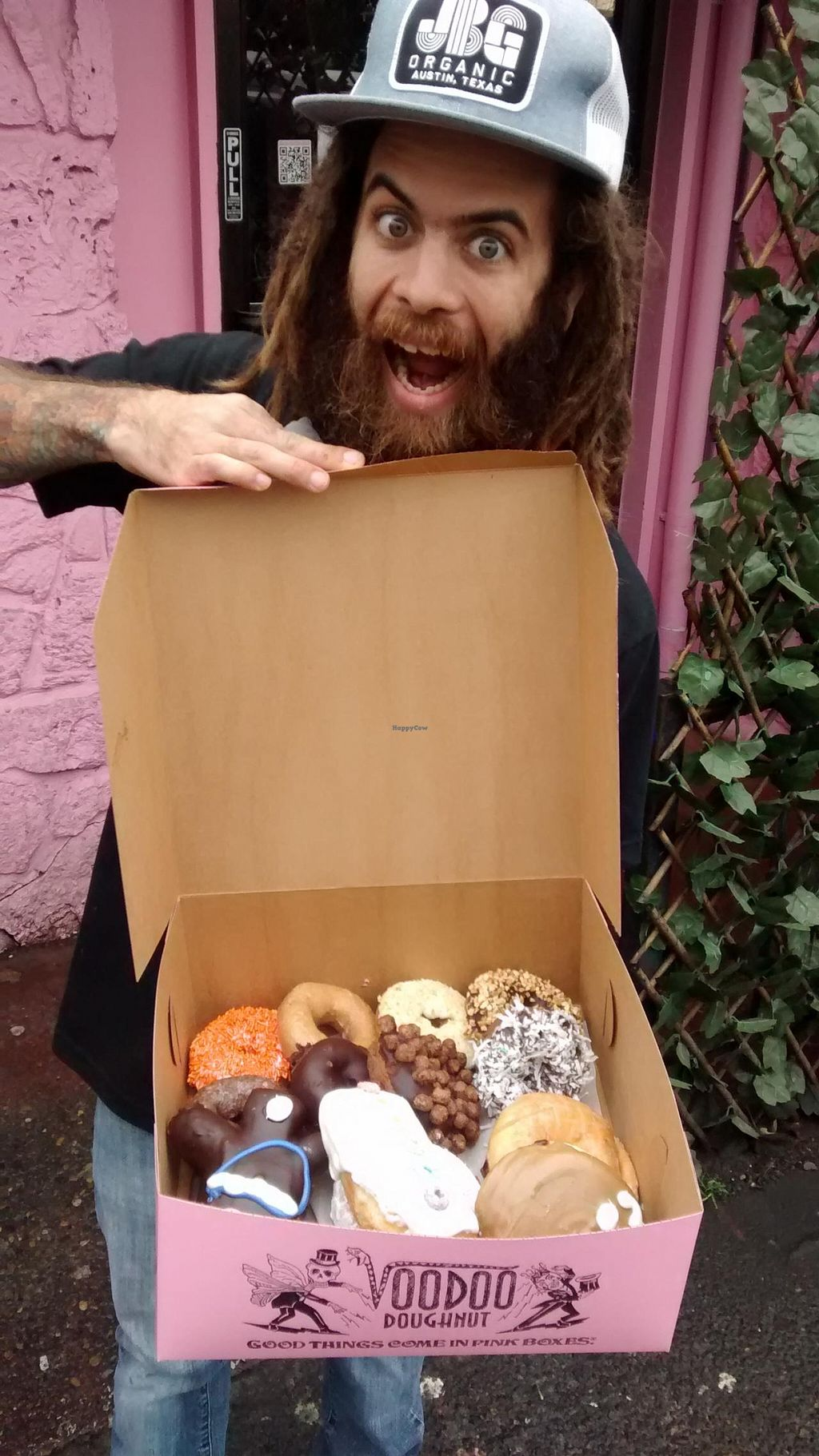 """Photo of Voodoo Doughnut Too  by <a href=""""/members/profile/lai.9292"""">lai.9292</a> <br/>vegan doughnuts for lovers <br/> March 16, 2015  - <a href='/contact/abuse/image/33115/95868'>Report</a>"""
