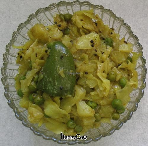 "Photo of Nilima's Snack Meal Service - Food Truck  by <a href=""/members/profile/krushna"">krushna</a> <br/>Cabbage Peas <br/> February 4, 2013  - <a href='/contact/abuse/image/33155/43794'>Report</a>"