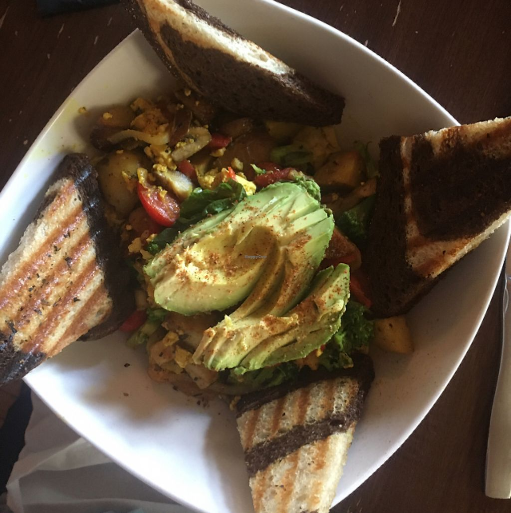 """Photo of SpeakEZ Lounge  by <a href=""""/members/profile/Mariarosekicks"""">Mariarosekicks</a> <br/>vegan brunch option  <br/> May 21, 2017  - <a href='/contact/abuse/image/33162/261085'>Report</a>"""