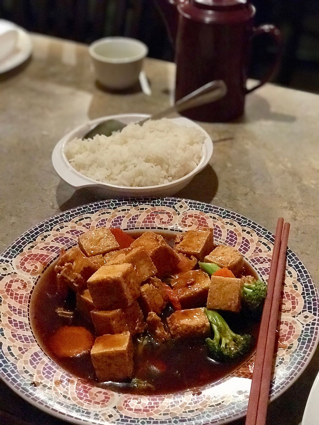"""Photo of Lai Thai Kitchen  by <a href=""""/members/profile/PlantPoweredRN"""">PlantPoweredRN</a> <br/>Vegan-General Tso Tofu  <br/> January 3, 2018  - <a href='/contact/abuse/image/33164/342606'>Report</a>"""
