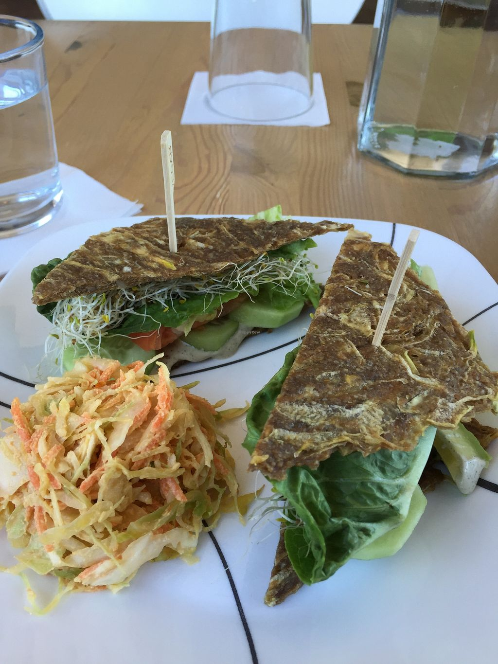 """Photo of CLOSED: Vitality Bistro  by <a href=""""/members/profile/ijk"""">ijk</a> <br/>California Simple Sandwich <br/> February 29, 2016  - <a href='/contact/abuse/image/33169/138191'>Report</a>"""