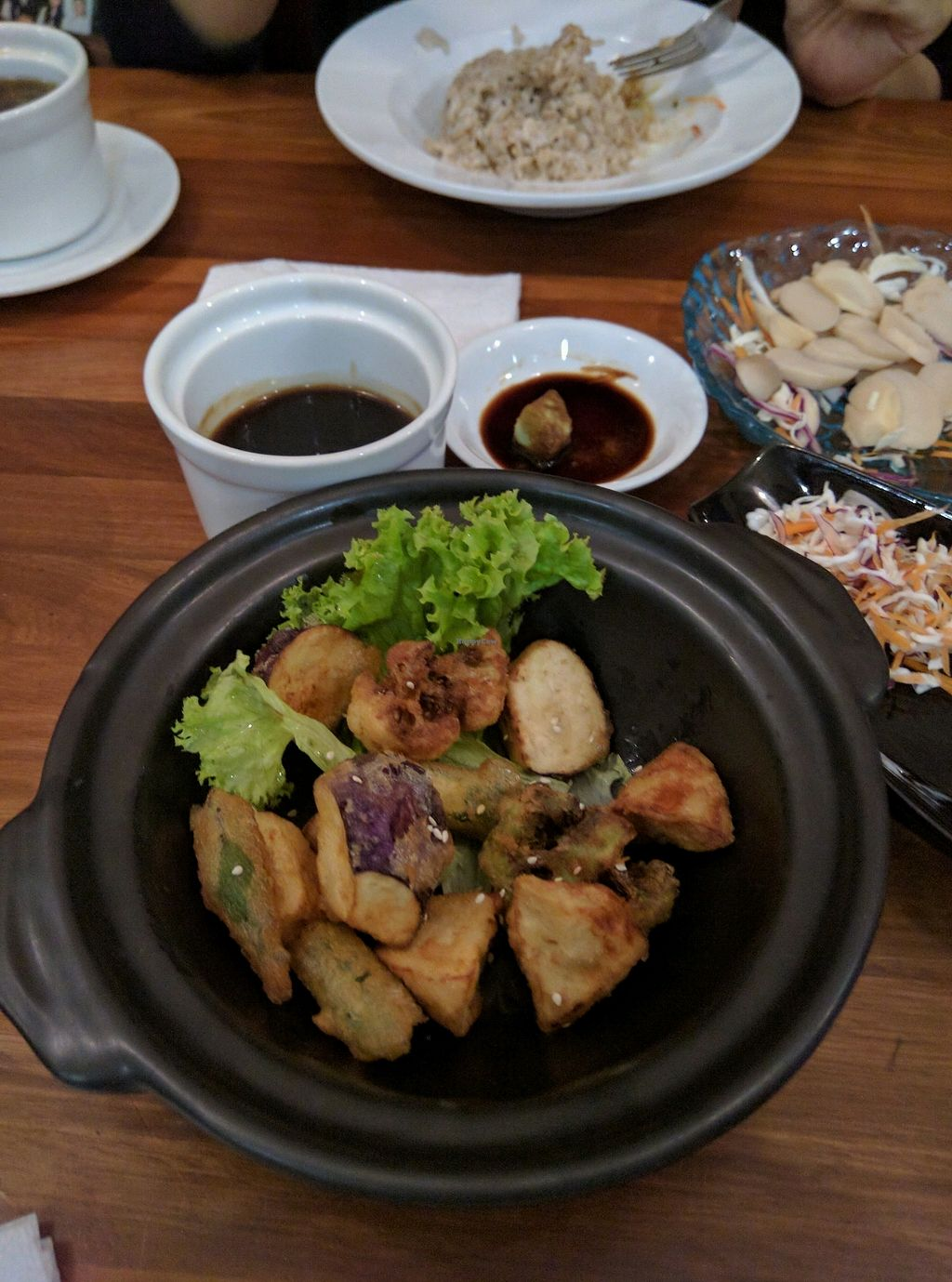"""Photo of Journey2Life  by <a href=""""/members/profile/Summer_Tan"""">Summer_Tan</a> <br/>Tempura Vegetables - Nice and crunchy with a nice sauce <br/> January 31, 2018  - <a href='/contact/abuse/image/33178/353328'>Report</a>"""