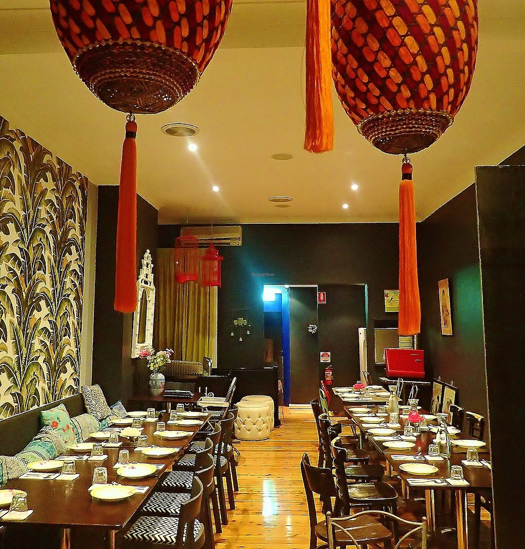 """Photo of Madame K's Vegetarian Cafe  by <a href=""""/members/profile/verbosity"""">verbosity</a> <br/>Upstairs <br/> April 10, 2016  - <a href='/contact/abuse/image/33179/256535'>Report</a>"""