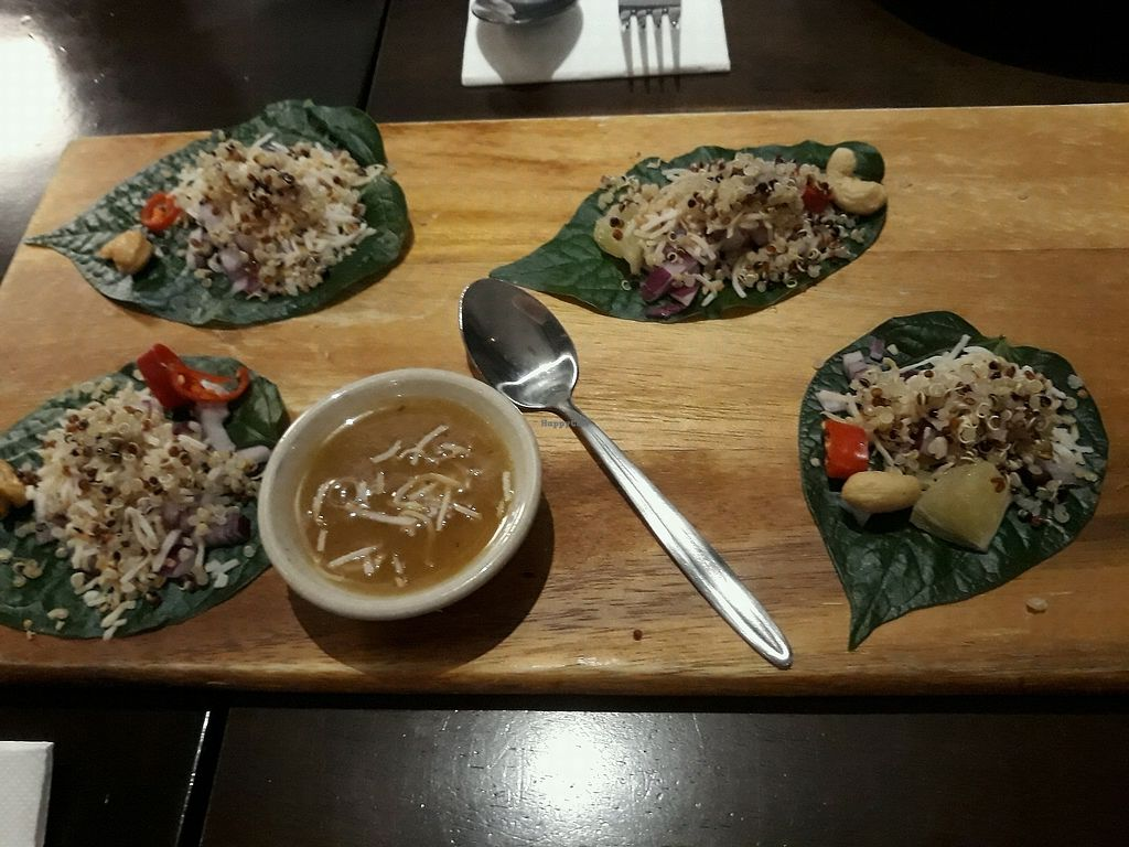 """Photo of Madame K's Vegetarian Cafe  by <a href=""""/members/profile/Purejoy58"""">Purejoy58</a> <br/>entree <br/> February 24, 2018  - <a href='/contact/abuse/image/33179/363123'>Report</a>"""