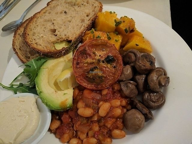"""Photo of Kawa Cafe  by <a href=""""/members/profile/wildeyedgirl"""">wildeyedgirl</a> <br/>big vegan breakfast - so good!  <br/> June 10, 2017  - <a href='/contact/abuse/image/33188/267494'>Report</a>"""