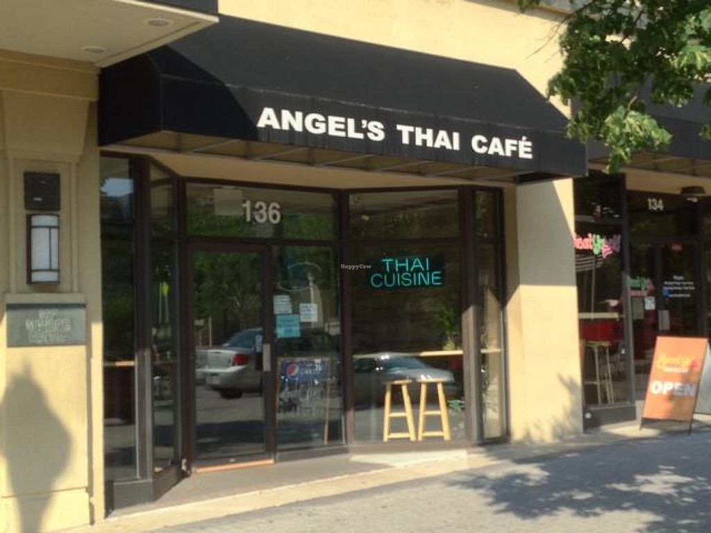 """Photo of Angel's Thai Cafe  by <a href=""""/members/profile/happycowgirl"""">happycowgirl</a> <br/>entrance <br/> July 13, 2014  - <a href='/contact/abuse/image/33195/74002'>Report</a>"""