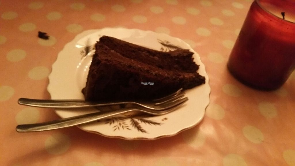 """Photo of Norman's Coach and Horses  by <a href=""""/members/profile/KatieBatty"""">KatieBatty</a> <br/>Chocolate cake  <br/> March 17, 2017  - <a href='/contact/abuse/image/33232/237283'>Report</a>"""