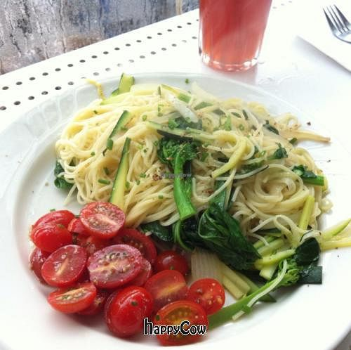 "Photo of The Depanneur  by <a href=""/members/profile/Meowmeow"">Meowmeow</a> <br/>Lemon garlic pasta w/ veg <br/> June 11, 2013  - <a href='/contact/abuse/image/33244/49450'>Report</a>"