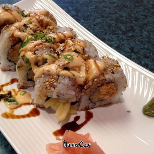"""Photo of CLOSED: Loving Vegan  by <a href=""""/members/profile/Becca13"""">Becca13</a> <br/>dynamite roll <br/> August 20, 2012  - <a href='/contact/abuse/image/33252/36512'>Report</a>"""