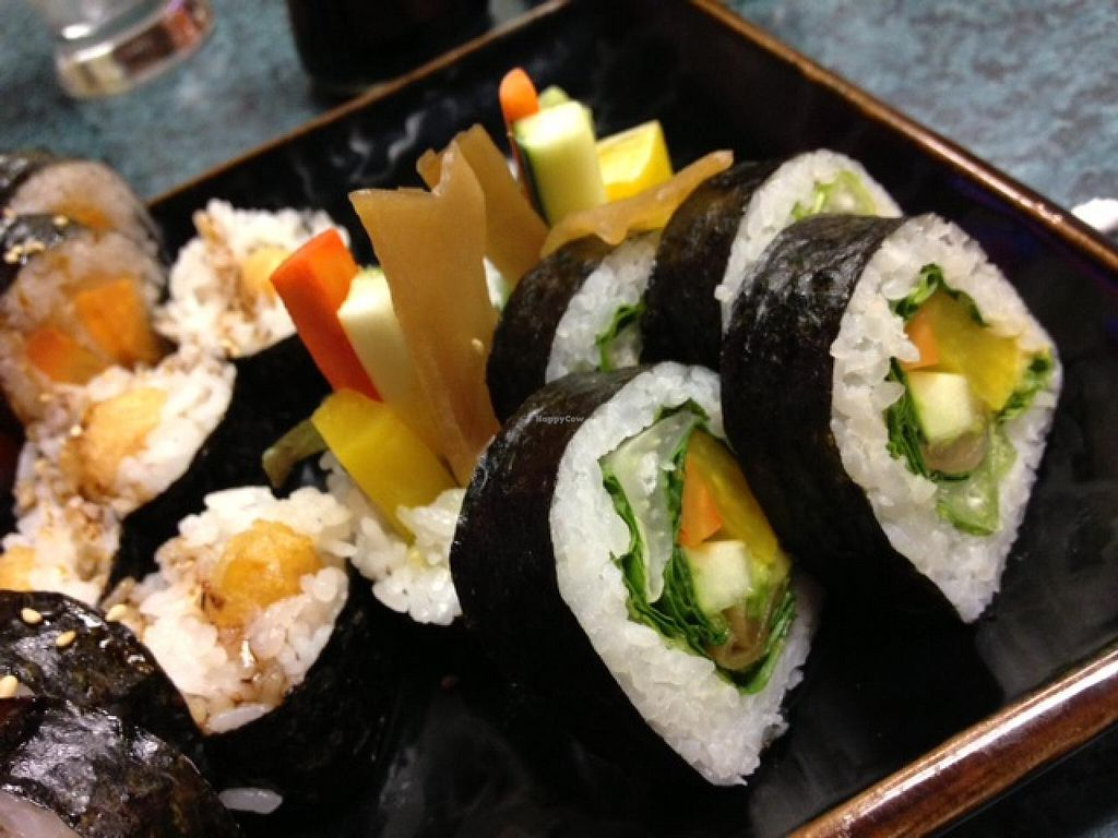 """Photo of CLOSED: Loving Vegan  by <a href=""""/members/profile/cookiem"""">cookiem</a> <br/>More traditional veg sushi, but still SO good <br/> February 17, 2014  - <a href='/contact/abuse/image/33252/64465'>Report</a>"""
