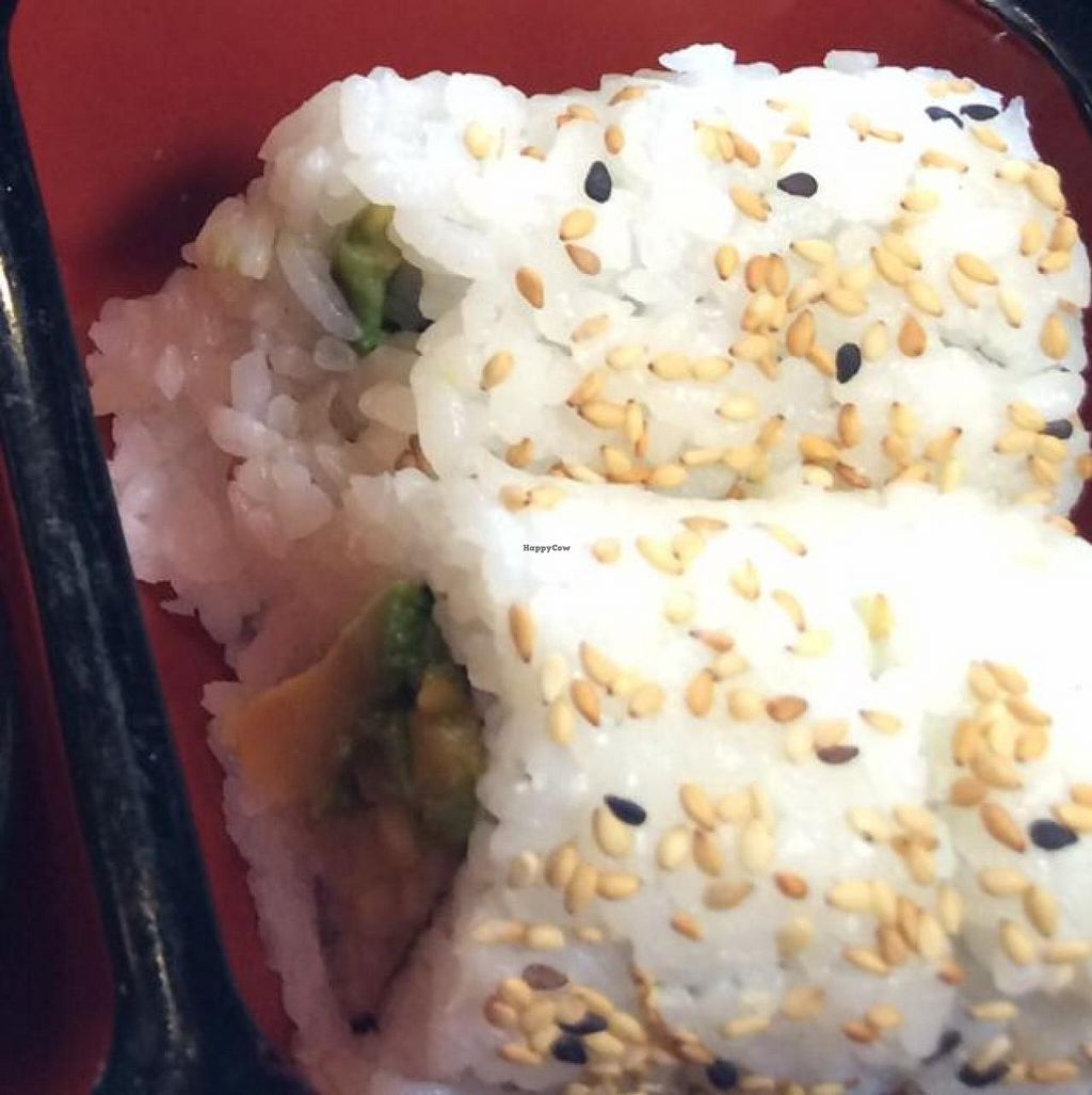 """Photo of CLOSED: Loving Vegan  by <a href=""""/members/profile/Evolving"""">Evolving</a> <br/>avocado roll 2 <br/> June 26, 2014  - <a href='/contact/abuse/image/33252/72860'>Report</a>"""