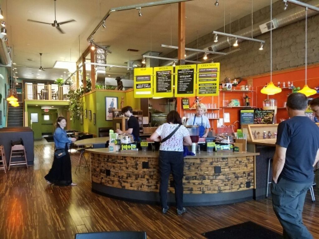 """Photo of Laughing Planet - Corvallis  by <a href=""""/members/profile/EverydayTastiness"""">EverydayTastiness</a> <br/>inside <br/> June 12, 2016  - <a href='/contact/abuse/image/33258/153677'>Report</a>"""