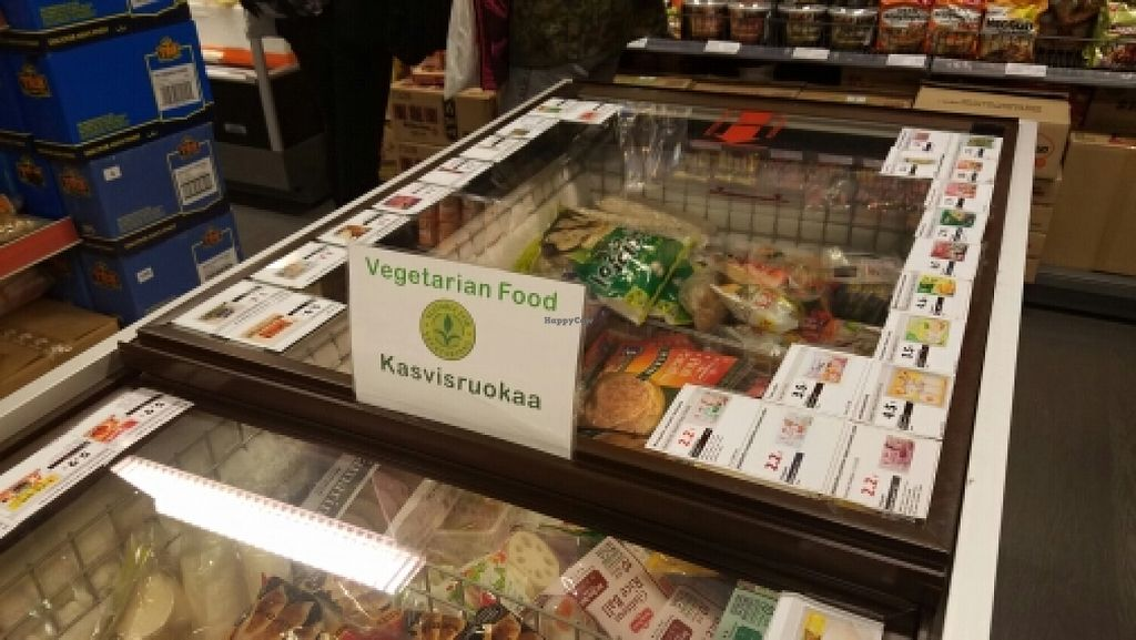 "Photo of East Asia Mart - Tampere  by <a href=""/members/profile/kenvegan"">kenvegan</a> <br/>vegetarian food <br/> June 10, 2016  - <a href='/contact/abuse/image/33260/153279'>Report</a>"