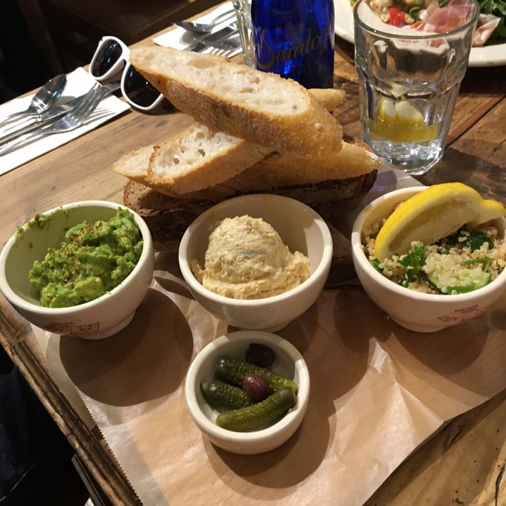 """Photo of Le Pain Quotidien - Grand St  by <a href=""""/members/profile/Thepennsyltuckyvegan"""">Thepennsyltuckyvegan</a> <br/>Bread Basket <br/> July 28, 2016  - <a href='/contact/abuse/image/33263/162941'>Report</a>"""