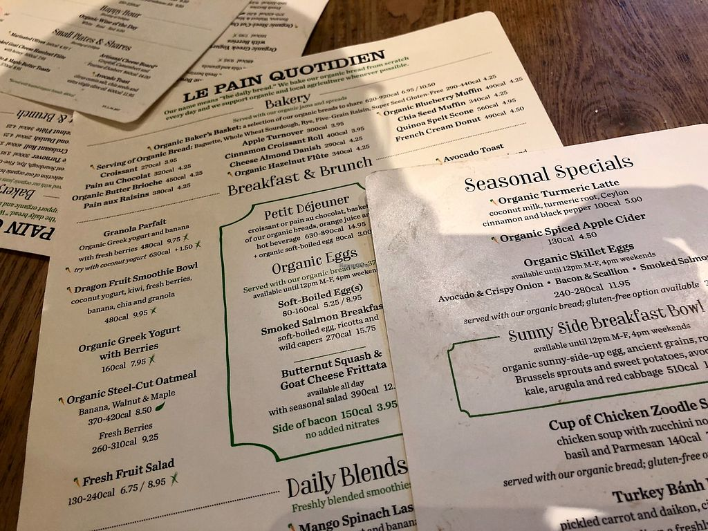 """Photo of Le Pain Quotidien - 7th Ave  by <a href=""""/members/profile/marky_mark"""">marky_mark</a> <br/>menu <br/> December 19, 2017  - <a href='/contact/abuse/image/33266/337316'>Report</a>"""